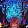 Freemont Street Experience One by Randall Weidner