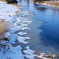Freeze On The Descutes by Carolyn Waissman