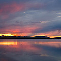Freezeout Lake Sunset by Jack Bell