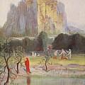 Freias Garden, 1906 by Hermann Hendrich