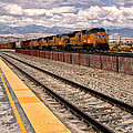 Freight Expectations Palm Springs by William Dey
