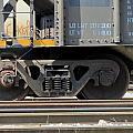 Freight Train Wheels 1 by Anita Burgermeister