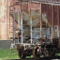Freight Train Wheels 12 by Anita Burgermeister