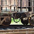 Freight Train Wheels 13 by Anita Burgermeister