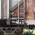 Freight Train Wheels 16 by Anita Burgermeister