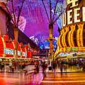 Fremont Street Experience by Az Jackson