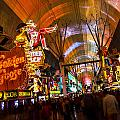 Fremont Street Experience Lights by Angus Hooper Iii