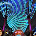 Fremont Street Experience Two by Randall Weidner