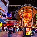 Fremont Street Lights 2 by Angus Hooper Iii
