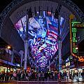 Fremont Street Lights by Angus Hooper Iii
