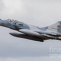 French Air Force Mirage 2000c Fighter by Timm Ziegenthaler