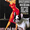 French Bulldog Art - Una Parigina Movie Poster by Sandra Sij