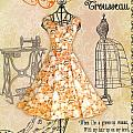 French Dress Shop-c by Jean Plout