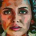 French Gypsy Girl by Dragica  Micki Fortuna