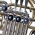 French Horn Valves Classic Photograph In Color 3439.02 by M K Miller