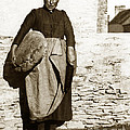 French Lady With A Very Large Bread France 1900 by California Views Archives Mr Pat Hathaway Archives