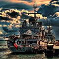 French Naval Frigate by Douglas Barnard
