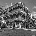 French Quarter Afternoon Bw by Steve Harrington