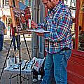 French Quarter Artist by Steve Harrington