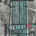 French Quarter Balcony by Brenda Bryant