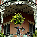 French Quarter Balcony by Susie Hoffpauir