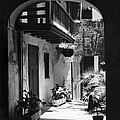 French Quarter Courtyard by Underwood Archives