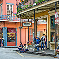 French Quarter - Hangin' Out by Steve Harrington
