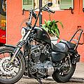 French Quarter Harley by Steve Harrington