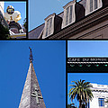 French Quarter Looking Up by Kathy K McClellan
