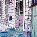 French Quarter Stoop 213 by John Boles