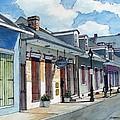 French Quarter Street 211 by John Boles