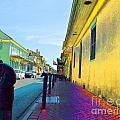 French Quarter Street by Alys Caviness-Gober