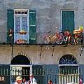 French Quarter Stroll 2 - New Orleans by Rebecca Korpita
