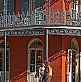 French Quarter Tete A Tete by Steve Harrington