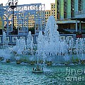 French Quarter Water Fountain by Saundra Myles