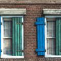 French Quarter Windows by Brenda Bryant