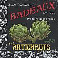 French Veggie Labels 1 by Debbie DeWitt