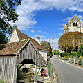 French Village Road by Olivier Le Queinec
