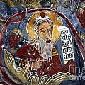 Fresco At The Sumela Monastery Turkey by Robert Preston