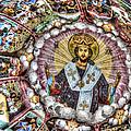 Fresco From Rila Monastery  by Eti Reid