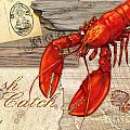 Fresh Catch Lobster by Paul Brent