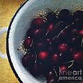 Fresh Cherries by Linda Woods