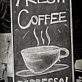 Fresh Coffee by Valerie Reeves