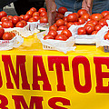 Cedar Park Texas Fresh Tomatoes by JG Thompson
