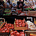 Fresh Fruits And Vegetables by David Zimmerman