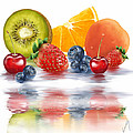 Fresh Fruits by Veronica Minozzi