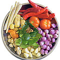 Fresh Ingredients For Cooking Curry Sauce by Jit Lim