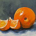 Fresh Orange IIi by Torrie Smiley