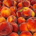 Fresh Peaches by David Kay