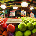 Fresh Pike Place Apples by Scott Campbell